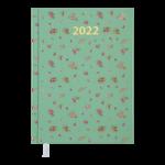 Ежедневник датированный 2021 Buromax Provence А5 336 с. Бирюзовый (BM.2161-06)