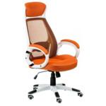 Кресло Special4You Briz Orange/White (E0895)