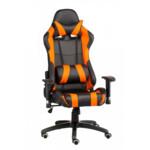Кресло Special4You ExtremeRace Black/Orange (E4749)
