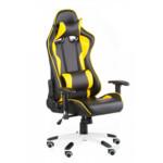 Кресло Special4You ExtremeRace Black/Yellow (E4756)
