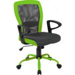 Кресло Office4You Leno Grey/Green (27784)