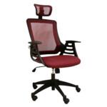 Кресло Office4You Merano Headrest Bordeaux (27713)