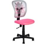 Детское компьютерное кресло Office4You Zebra Pink (13301)