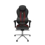 Кресло Kulik System Grand Black/Red (ID 0402)
