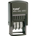 Мини-датер со свободным полем Trodat Printy-Dater 4850, укр, 3,8 мм, 25х5 мм