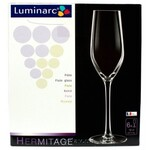 Набор бокалов для шампанского Luminarc Hermitage, 160 мл, 6 шт (H2603)