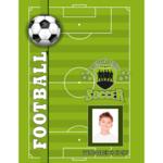 Дневник школьный ZiBi Football, 169x234 мм, 54 л (ZB.13757)