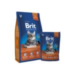 Сухой корм для кошек Brit Premium Cat Indoor 0,8 кг