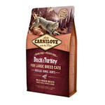 Сухой корм для кошек Carnilove Cat Adult Large Breed Duck & Turkey 0,4 кг