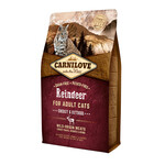 Сухой корм для кошек Carnilove Cat Adult Energy & Outdoor Raindeer 0,4 кг