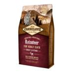 Сухой корм для кошек Carnilove Cat Adult Energy & Outdoor Raindeer 6 кг