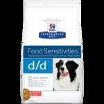 Лечебный корм для собак Hill's Prescription Diet Canine d/d Salmon & Rice 12 кг