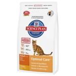Сухой корм для кошек Hill's Science Plan Feline Adult Optimal Care Chicken 0,4 кг