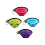 Дорожная складная миска Dexas, малая, фиолетовый (dx30710)