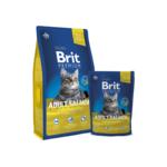 Сухой корм для кошек Brit Premium Cat Adult Salmon 0,8 кг