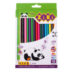 Карандаши цветные ZiBi Kids Line 18 цветов (ZB.2415)