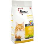 Сухой корм для кошек 1st Choice Senior Mature Less Active 5,44 кг