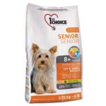 Сухой корм для собак 1st Choice Senior Toy & Small Breeds 7 кг