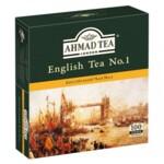 Чай черный Ahmad Английский №1, 100х2г, в пакетиках (prpt.05982)
