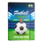 Папка для труда ZiBi Kids Line Football, картонная на резинке, А4+ 300х212х28мм (ZB.14914)
