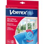Салфетка Vortex микрофибра для стекол и зеркал (4820048488167)