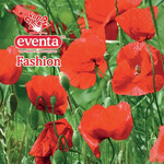 Салфетки столовые Eventa Fashion трехслойные Цветы Красные маки 33х33 см 20 шт (34196800_4037698999992)