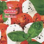 Салфетки столовые Eventa Fashion трехслойные Гастрономия Капрезе 33х33 см 20 шт (34198200_4037698999992)