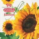 Салфетки столовые Eventa Fashion трехслойные Цветы Подсолнух 33х33 см 20 шт (34196900_4037698999992)