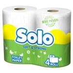 Туалетная бумага Solo двухслойная Ультра 4 рулона (8690530005792)