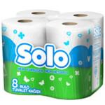 Туалетная бумага Solo двухслойная Ультра 8 рулонов (8690530005815)