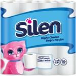 Туалетная бумага Silen двухслойная белая 32 рулона (8690530324930)