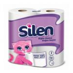 Бумажные полотенца Silen двухслойные 2 рулона (8690530025127)