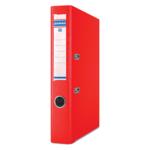 Регистратор Donau, А4, 50 мм, рычаж. мех, двухсторонний, красный (3955001PL-04)