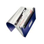 Папка с отделениями Leitz Style 250 листов титановый синий (3957-00-69)