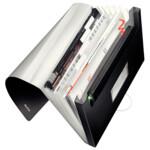 Папка с отделениями Leitz Style 250 листов сатиновый черный (3957-00-94)