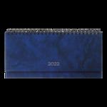 Планинг датированный Buromax Base 2021 320х125 мм 120 с. Синий (BM.2599-02)