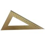 Угольник деревяный Мицар 20 см, 60х90х30 градусов (103019)