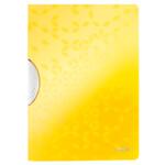 Папка с клипом Leitz WOW ColorClip A4 желтый металлик (4185-00-16)