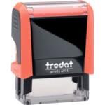 Оснаска для штампа Trodat Neon 4911 оранжевая (4911 NEON помар)
