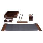 Набор настольный деревянный Bestar, 5 предметов, орех (5105FDX)