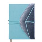 Ежедневник недатированный Buromax Bella А5 из искусственной кожи на 288 страниц Мятный с серебром (BM.2015-38)