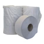 Туалетная бумага BuroClean Джамбо однослойная на гильзе Серая (10100053)