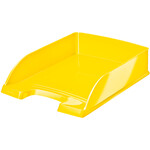 Горизонтальный лоток Leitz WOW, желтый металик (5226-30-16)