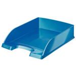 Горизонтальный лоток Leitz WOW синий металик (5226-30-36)