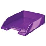 Горизонтальный лоток Leitz WOW фиолетовый металик (5226-30-62)
