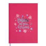 Ежедневник датированный 2021 Buromax Motivation А5 336 с. Красный (BM.2147-05)