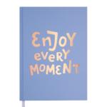 Ежедневник датированный 2021 Buromax Motivation А5 336 с. Голубой (BM.2147-14)