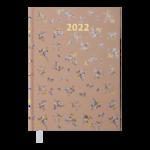 Ежедневник датированный 2022 Buromax PROVENCEА5 бежевый 336 с (BM.2161-28)