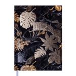 Ежедневник датированный 2022 Buromax FANCY А5 черный 336 с (BM.2169-01)