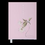 Ежедневник датированный 2022 Buromax ALLUREА5 св-розовый 336 с (BM.2178-43)